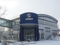 Airbus site at Buxtehude