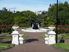 Albert Park in central Auckland