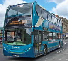 Alexander Dennis Enviro 400 in Newcastle in May 2009