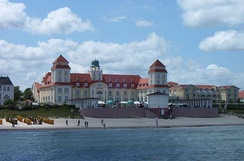 Binz, tourist resort since the 1860s