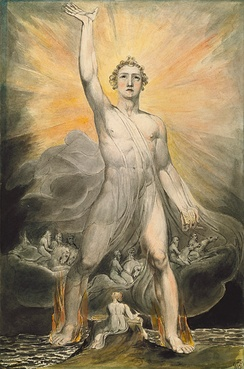 Angel of the Revelation by William Blake, between circa 1803 and circa 1805