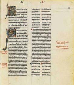 The Long Commentary on Aristotle's On the Soul, French Manuscript, third quarter of the 13th century