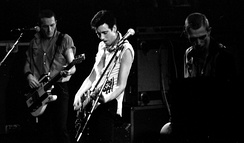 The Clash, performing in 1980