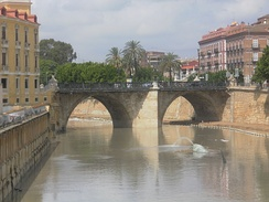 Murcia's oldest bridge of Puente de los Peligros