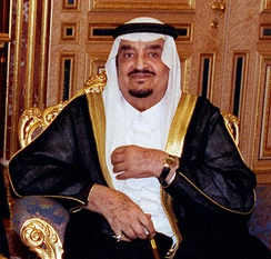 King Fahd of Saudi Arabia. His entourage used to spend up to 5 million euros a day in Marbella.
