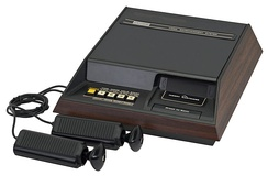 The Fairchild Channel F was the first video game console to feature games on interchangeable ROM cartridges.