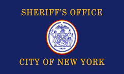 Flag of the New York City Sheriff's Office