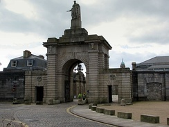 Royal William Victualling Yard, Stonehouse by Sir John Rennie,1825–33.