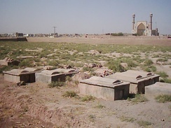 Jewish cemetery in Herat, Afghanistan.