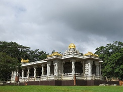 Kauai Hindu monastery in Kauai Island in Hawaii is the only Hindu Monastery(shaivaite) in the North American continent