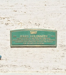 Crypt of Jerry Goldsmith at Hillside Memorial Park