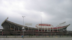 Arrowhead prior to renovations between 2008–2010.