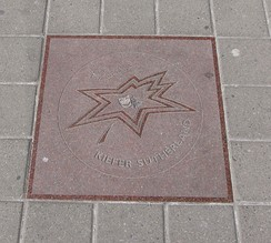 Kiefer Sutherland's star on Canada's Walk of Fame