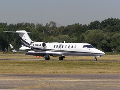 Learjet 45 of Gama Aviation
