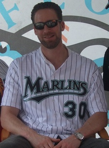 Hendrickson at Florida Marlins Fan Fest 2008.