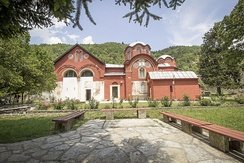 Patriarchate of Peć in Kosovo, the seat of the Serbian Orthodox Church from the 14th century when its status was upgraded into a patriarchate