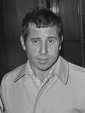 Song composer Paul Simon, circa 1966