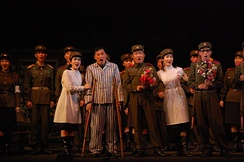 Performance at a Pyongyang opera