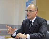 Russian politician Sergey Kiriyenko, former Prime Minister of Russia