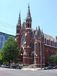St. Paul's Cathedral in downtown Birmingham