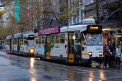 Melbourne is home to the world's largest tram network.[214]