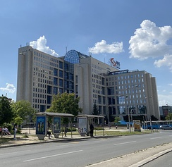 NIS headquarters in Novi Sad