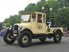 A 1920 Chevrolet tow truck