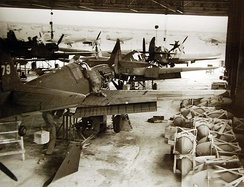 Assembly of Tomahawks for Russia, somewhere in Iran, 1943