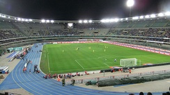 Stadio Marcantonio Bentegodi, which was used as a venue at the 1990 FIFA World Cup is home to Verona's major football clubs Hellas Verona and Chievo Verona
