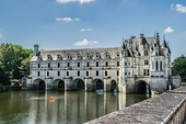 The Château de Chenonceau, built between 1514 and 1522 in France