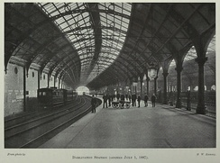Darlington Bank Top Station, opened in 1887