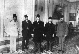 Delegation of the Ottoman Parliament to Abdul Hamid II.