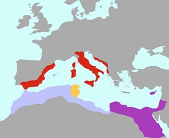 Numidia along with Egypt, Rome, and Carthage 200 BC