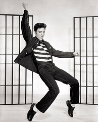 Elvis Presley helped popularise rock and roll music.