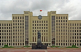 The Supreme Soviet of Byelorussia, meets for its legislative sessions in Minsk.