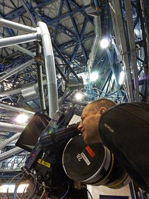 IMAX Filming at Paranal Observatory.[75]