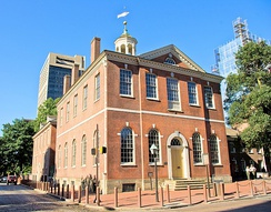 Old City Hall served as Philadelphia's town hall from 1800 to 1854.