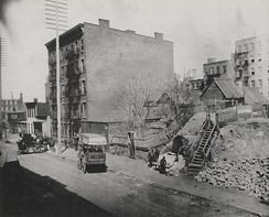 Hell's Kitchen and Sebastopol, c. 1890, photographed by Jacob Riis