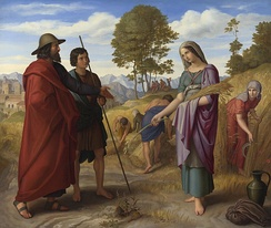 Ruth in the fields of Boaz by Julius Schnorr von Carolsfeld