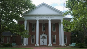Kent County Courthouse in Chestertown