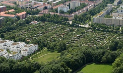 Allotments in Schwabing, Munich