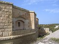Casemate at Fort San Lucian, Malta
