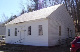 The Town House of Marlboro, Vermont, was built in 1822 to be used for town meetings, which had previously been held in private homes. It is still in use today.