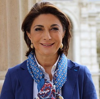 Martine Vassal, current President of the Departmental Council