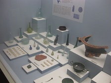 Exhibits at the Archaeological Museum of Argostoli.