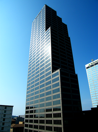 The Simmons Tower is the state's tallest building.
