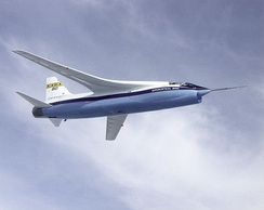 NASA TF-8A supercritical wing testbed
