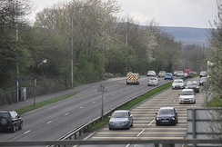 The A4072 (Forge Road)