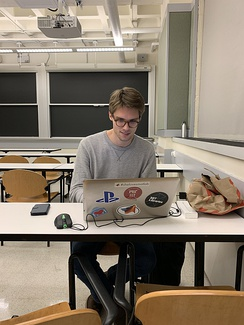 Norwegian student conducting research at the Massachusetts Institute of Technology in the United States