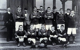 Nottingham Forest team that played in Rosario, 16 June 1905